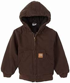 Carhartt Boys Size Chart Amazon Com Carhartt Big Boys Active Jacket Outerwear
