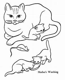 30 free printable cat coloring pages