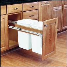kitchen cabinet trash can pull out home furniture design