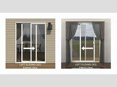 JELD WEN® Builders Series Vinyl Sliding Patio Door with