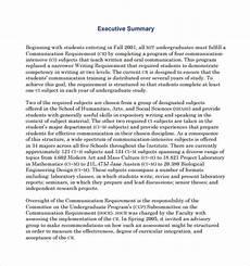 Sample Executive Summary Template Free 7 Sample Executive Summary Templates In Pdf Ms Word