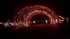 Eaton Ohio Christmas Lights Fort St Clair State Park Photograph A Light Display At