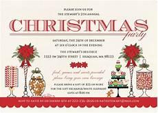 Christmas Carol Invitation Wording Christmas Party Invitation Wording From Purpletrail