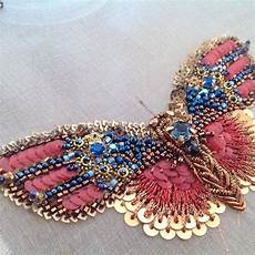 butterfly haute couture tambour beading embroidery