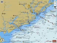 Charleston Sc Nautical Charts Charleston Harbor And Approaches Marine Chart Us11521