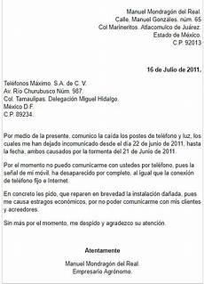 Ejemplos De Cartas De Peticion Ejemplos De Como Hacer Carta Formal De Petici 211 N En M 201 Xico