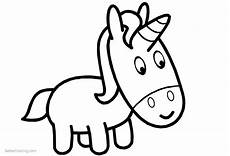 Malvorlagen Unicorn Baby Baby Unicorn Coloring Pages Free Printable Coloring Pages