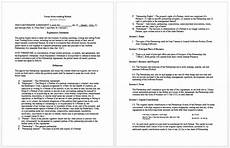 Business Contracts Samples Business Contract Templates 8 Free Samples Microsoft