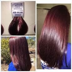Ion Hair Color Chart Ion Color Brilliance Medium Intense Red Hair Pinterest