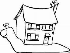 Ausmalbilder Haus Mit Schnee Schnecke Mit Echtem Haus Ausmalbild Malvorlage Tiere