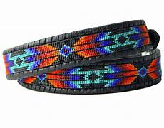 our beaded belts are american inspired tom