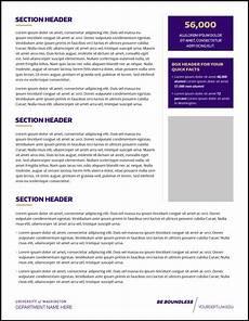 Fact Sheet Template Publisher Fact Sheet Uw Brand