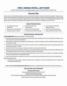 Resume Format Standard Usa Resume Format Best Tips And Examples Updated