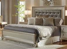 chagne 6 california king bed bedroom set