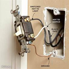 European Light Switch Wiring Wiring Outlets And Switches The Safe And Easy Way The