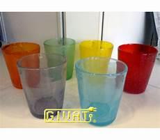 bicchieri in vetro colorato bicchieri colorati in vetro