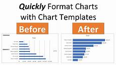 Charts And Graphs Templates How To Create Chart Templates For Default Chart Formatting