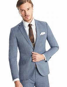 Light Blue Check Jacket Men S Light Blue Prince Of Wales Check Extra Slim Fit Suit