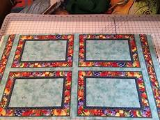 summer preserves 4 kitchen placemats cotton fabric panel