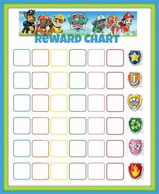 Free Printable Potty Chart Paw Patrol Paw Patrol Reward Chart Printables Pinterest Summer