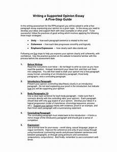 Example Of Editorial Essays Awesome Steps To Writing An Opinion Essay Thatsnotus