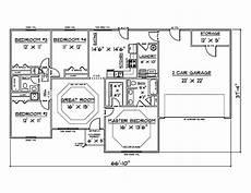 house plans for 1500 sq ft 4 bedroom house ebay
