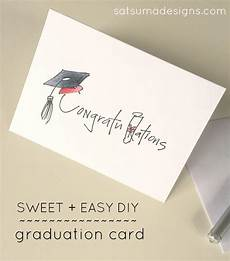 Graduation Card Design Diy Graduation Card Satsuma Designs