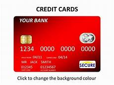Credit Card Template For Kids Credit Cards Template