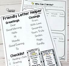 Example Of Friendly Letter Friendly Letter Writing Workshop Unit By Growing Firsties