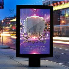 Party Flyer Size Luxury Cruise Party Premium Flyer Template Instagram