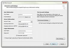 Setting Up Gmail Account In Outlook How To Set Up Gmail In Outlook