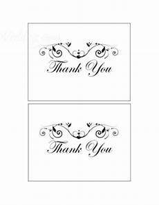 thank you card template wedding free printable poetic thank you cards template