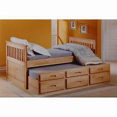 you ll the captains single bed with trundle and