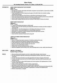 Speech Therapist Resume Slp Resume Samples Velvet Jobs