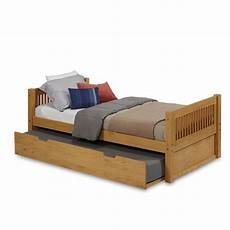 camaflexi size platform bed with trundle