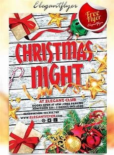 Christmas Lights Flyer Template Best Free Christmas And New Year Psd Flyers To Promote