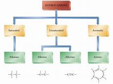 Hydrocarbon Flow Chart Flow Chart Of Hydrocarbons Science Carbon And Its