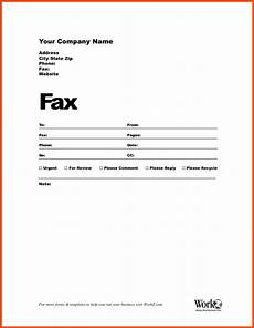 Fax Form Templates How To Fill Out A Fax Cover Sheet