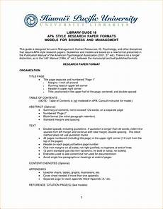 Format For Apa Research Paper Apa Paper Template Cyberuse