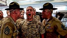 Marines Corps Drill Instructor Usmc Drill Instructors Get Ready For Screaming Youtube