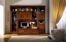 mobile soggiorno classico mobile componibile in ciliegio per soggiorni classici