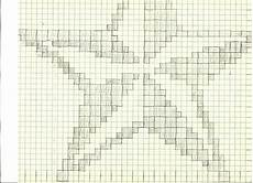 Graph Paper Star 5 Degrees Of Weirdness Crocheted 2 Color Star Pattern And