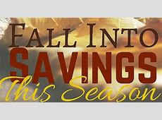 Fall Into Savings This Season * My Stay At Home Adventures