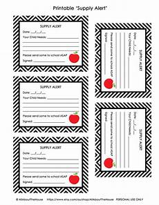 Student Pass Template Free Printable Hall Pass And Supply Alert Cards All