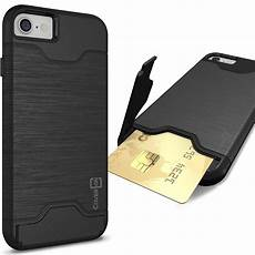 card sleeve for phone coveron for apple iphone 7 slim kickstand credit card