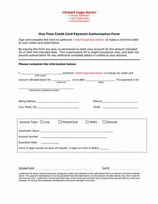 Credit Card Payment Form Template Credit Card Payment Authorization Form Template In Word