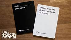 Example Of Cards Against Humanity What Does Cards Against Humanity Say About Humanity Youtube