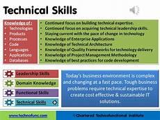 List Of Technical Skills Examples Technofunc Technical Skills