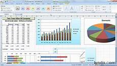 Excel Charts Samples How To Create A Chart Template In Excel 2007 Lynda Com