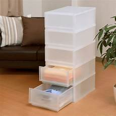 baby clothes storage containers stretch and shinwa japan imported transparent plastic